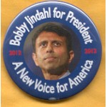 Hopeful 89X - Bobby Jindahl 2012 Campaign Button