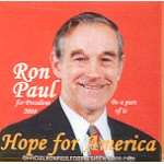 Hopeful 34F - Ron Paul for President 2008 Campaign Button