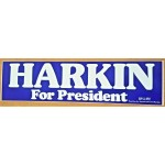 Hopeful 84J - Harkin For President Bumper Sticker
