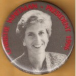 Hopeful 4G - Christie Whitman President 1996 Campaign Button