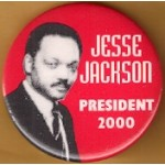 Hopeful 89K -  Jesse Jackson President 2000 Campaign Button