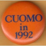 Hopeful 9M - Cuomo 1992 Campaign Button