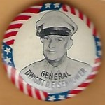 IKE 5J - General Dwight D. Eisenhower Campaign Button