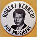 Kennedy RFK 38B - Robert Kennedy For President Campaign Button