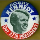 Robert F. Kennedy Campaign Buttons (4)
