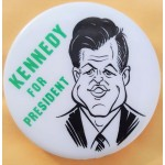Kennedy EMK 19J - Kennedy For President  Campaign Button