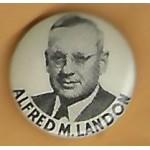 Landon 1J - Alfred M. Landon Campaign Button