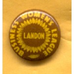 Landon 3B - Business Women's League Landon Campaign Button