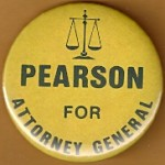 Indiana 5A - Pearson For Attorney General Campaign Button
