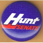 NC 1B - Hunt Senate Campaign Button