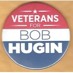 NJ 11Q - Veterans For Bob Hugin Campaign Button