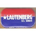 NJ 40H - Lautenberg U.S. Senate Campaign Button