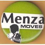 NJ 42F - Menza Moves Campaign Button