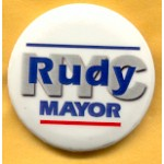 NY 29B - NYC Rudy Mayor Campaign Button