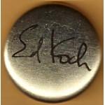 NY 37B - Ed Koch Campiagn Button