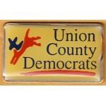 NJ 9N - Union County Democrats Lapel Pin