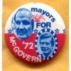 George McGovern Campaign Buttons (13)