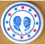 McGovern 1G - McGovern & Shriver Campaign Button