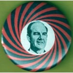 McGovern 5F - (George McGovern) Campaign Button