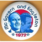 George McGovern Campaign Buttons (15)