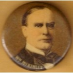 McKinley 10D - William McKinley Campaign Button