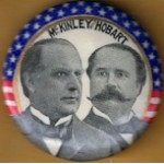 McKinley 10L - McKinley and Hobart Campaign Button