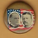 McKinley 3D -  (McKinley & Roosevelt) Campaign Button