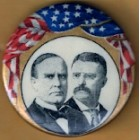 William McKinley Campaign Buttons (2)