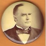 McKinley 9J - (William McKinley) Campaign Button