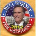 Mitt Romney Campaign Buttons (11)