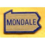 Mondale 9E - Mondale  Lapel Pin