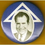 Nixon 30G - (Richard Nixon) Campaign Button