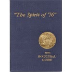 "Nixon 74D - ""The Spirit of '76"" 1973 Inaugural 1973 (Richard Nixon) Guide (Book)"