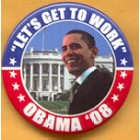 Barack Obama Campaign Buttons