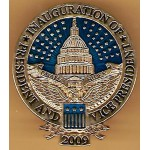 Obama 1T - Inauguration Of President And Vice President 2009 Obama Biden Lapel Pin