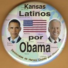 Barack Obama Campaign Buttons (38)