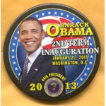 Obama 36B - Barack Obama 2nd Term Inauguration Button