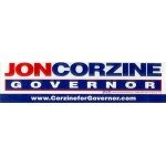 NJ 51C - Jon Corzine Governor Bumper Sticker