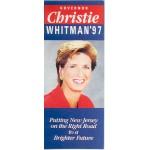 NJ 53C - Governor Christie Whitman '97 Paper Flyer