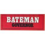NJ 67A - Bateman Governor Bumper Sticker