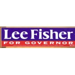 OH 7S - Lee Fisher For Governor Bumper Sticker