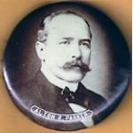 Parker 1J - Alton B. Parker Campaign Button
