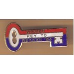 Reagan 30H - Women Key To Reagan '84 Lapel Pin