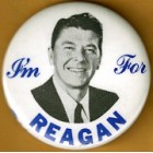 Ronald Reagan Campaign Buttons (73)