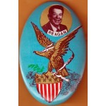 Reagan 85D - Reagan Campaign Button