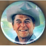 Reagan 28K - (Ronald Reagan) Campaign Button