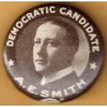 Smith 1G - Democratic Candidate A.E. Smith  Campaign Button