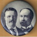 T.R. 4G - Roosevelt Fairbanks Campaign Button