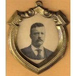 T.R. 5G (Teddy Roosevelt) Metal Framed Picture