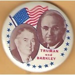 Truman 2J - Truman Barkley Campaign Button